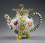 Spotty teapot